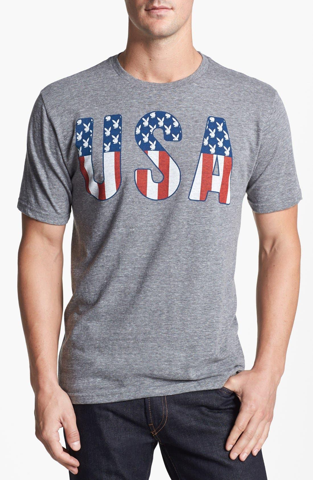 Alternate Image 1 Selected - PalmerCash 'Playboy US' T-Shirt