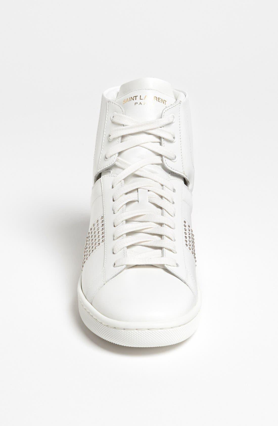 Alternate Image 3  - Saint Laurent High Top Sneaker