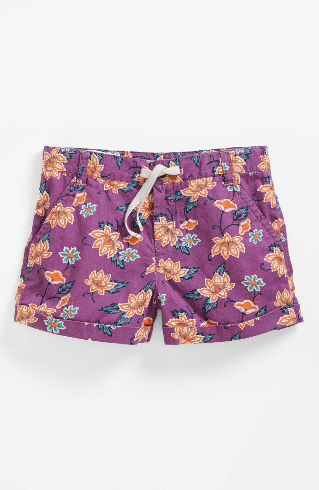 Alternate Image 1 Selected - Tucker + Tate Print Shorts (Little Girls & Big Girls)