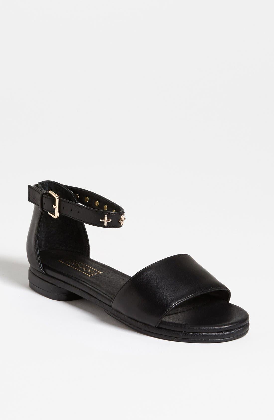 Alternate Image 1 Selected - Topshop 'Fend' Sandal