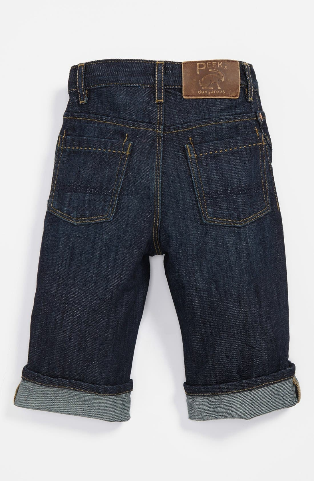 Alternate Image 1 Selected - Peek 'Peanut' Jeans (Baby Boys)