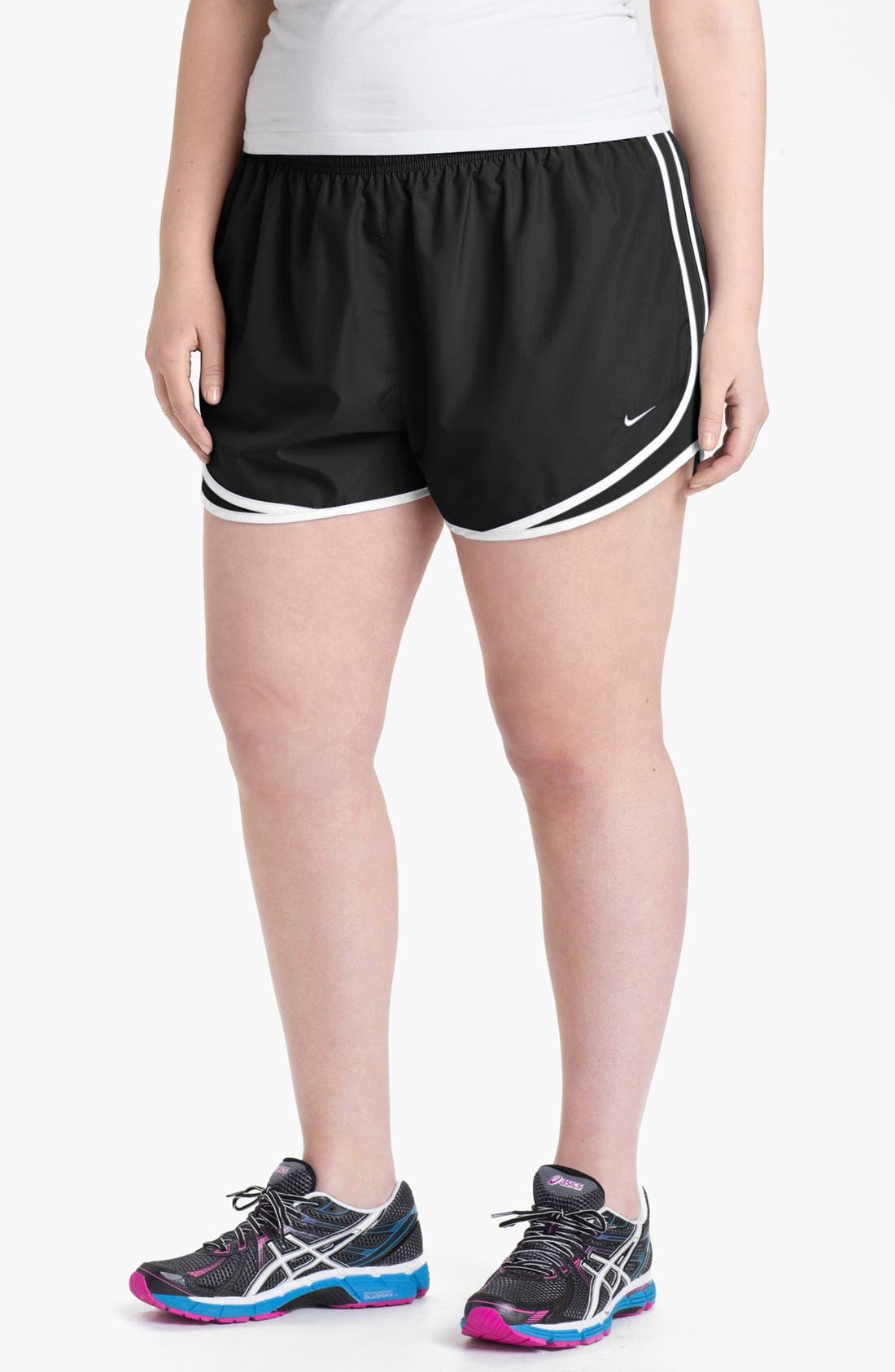 Alternate Image 1 Selected - Nike 'Tempo' Track Shorts (Plus Size) (Online Only)