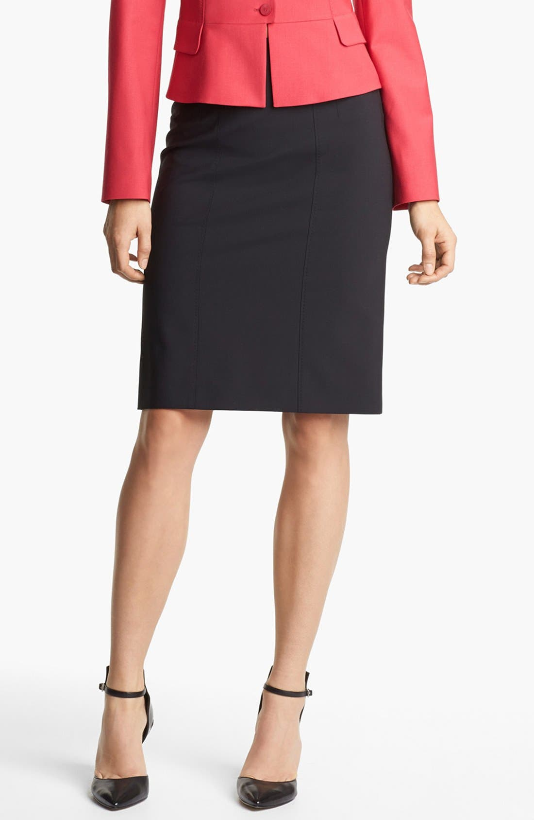 Alternate Image 1 Selected - BOSS HUGO BOSS 'Vilisa' Skirt