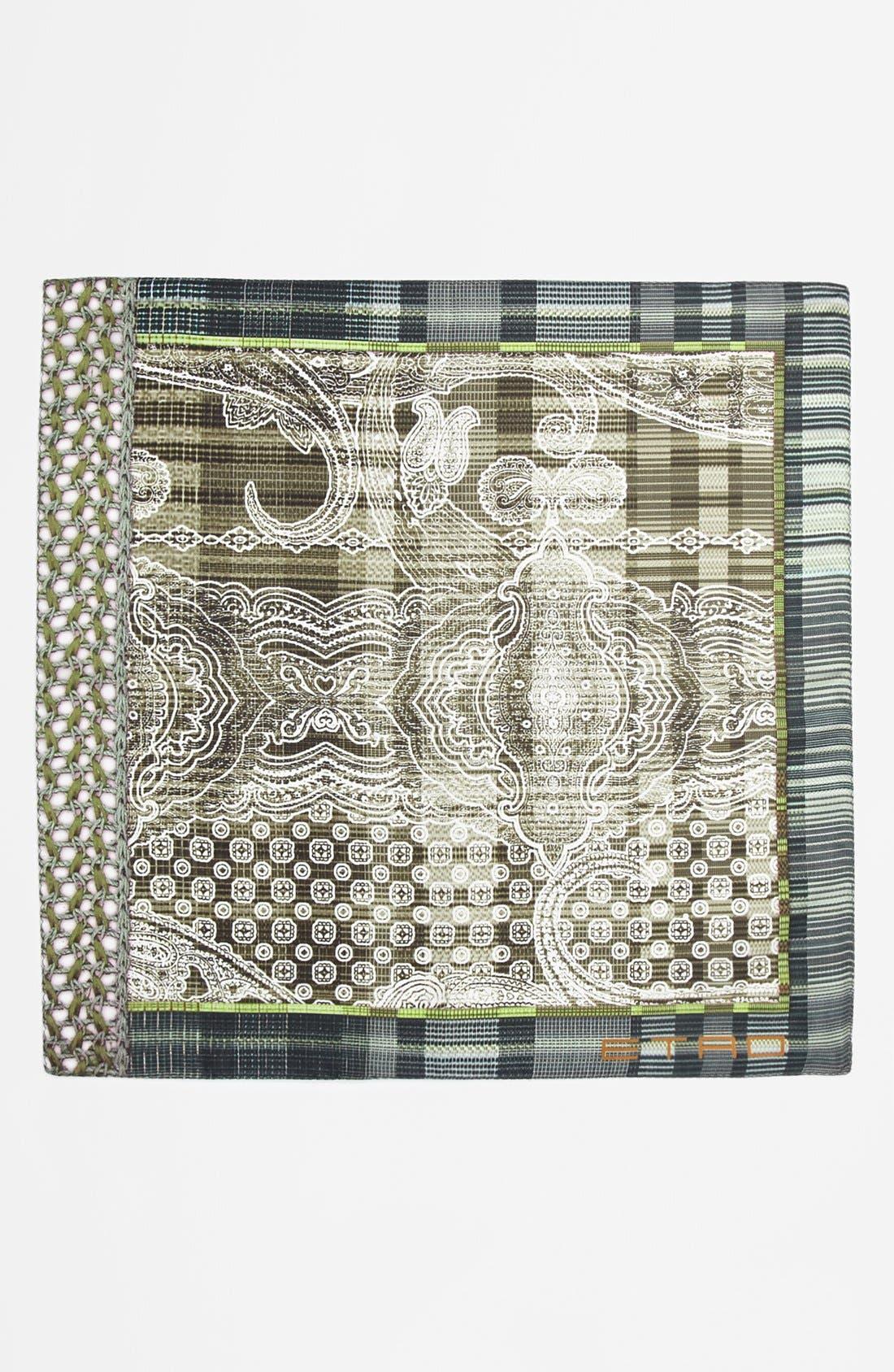Alternate Image 2  - Etro Silk Pocket Square