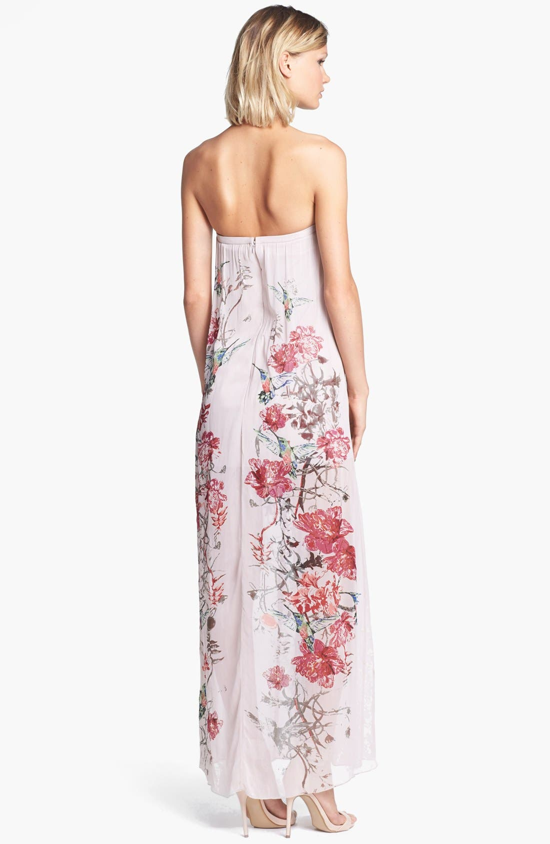 Alternate Image 2  - French Connection 'Rio' Embellished Print Maxi Dress