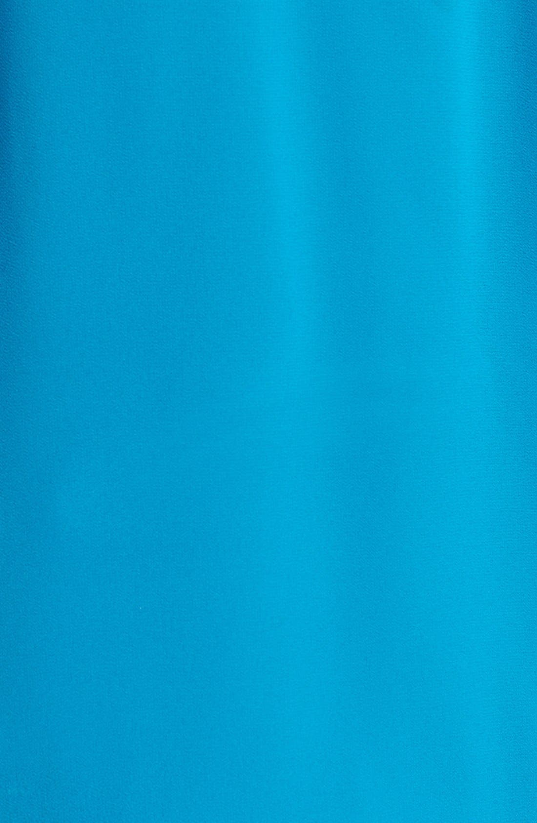 Alternate Image 2  - DKNYC Roll Sleeve Blouse (Plus Size)