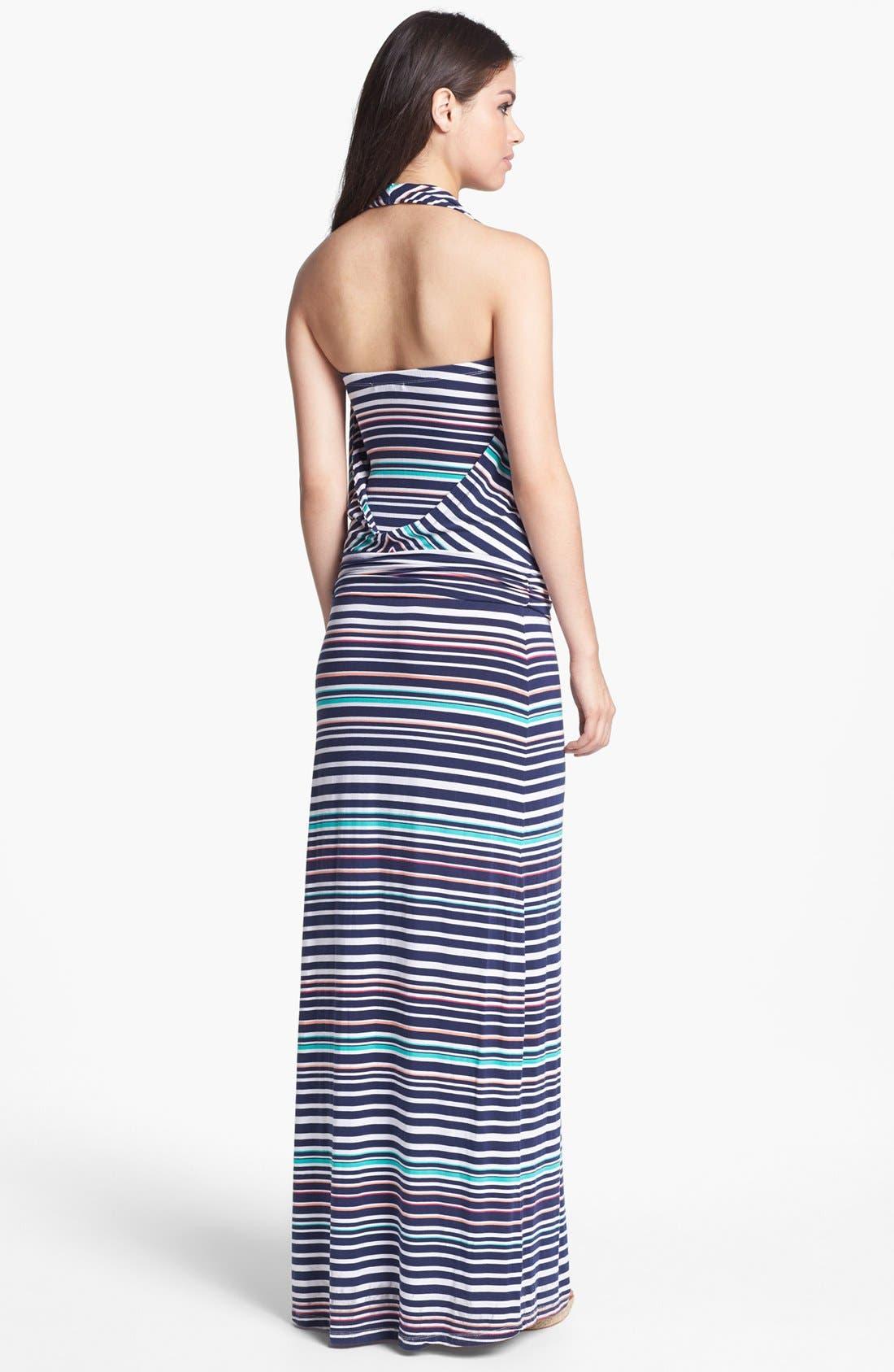 Alternate Image 2  - Tart 'Mae' Convertible Stripe Jersey Maxi Dress