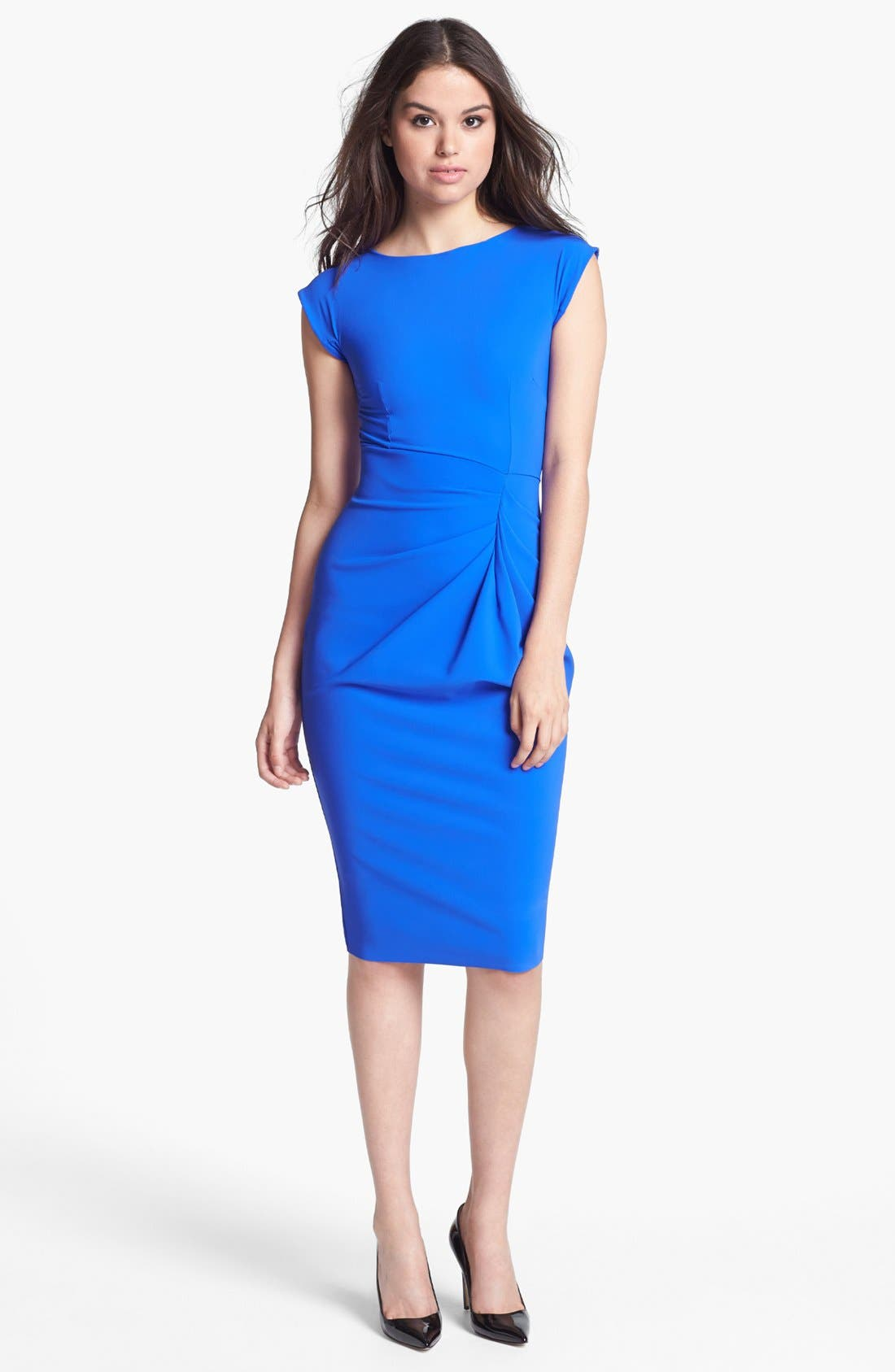 Alternate Image 1 Selected - La Petite Robe by Chiara Boni Side Pleat Pencil Dress