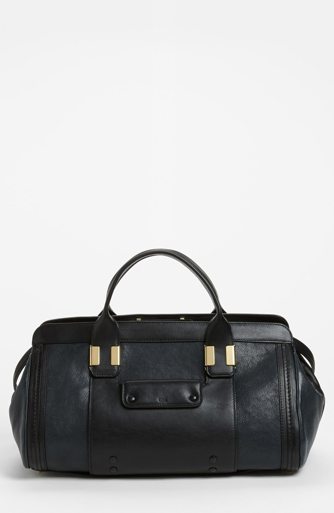 Main Image - Chloé 'Alice - Small' Leather Satchel