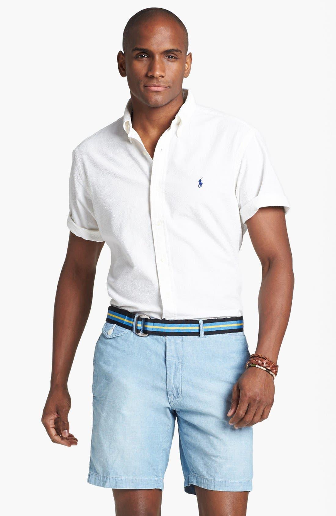 Alternate Image 1 Selected - Polo Ralph Lauren Classic Fit Sport Shirt