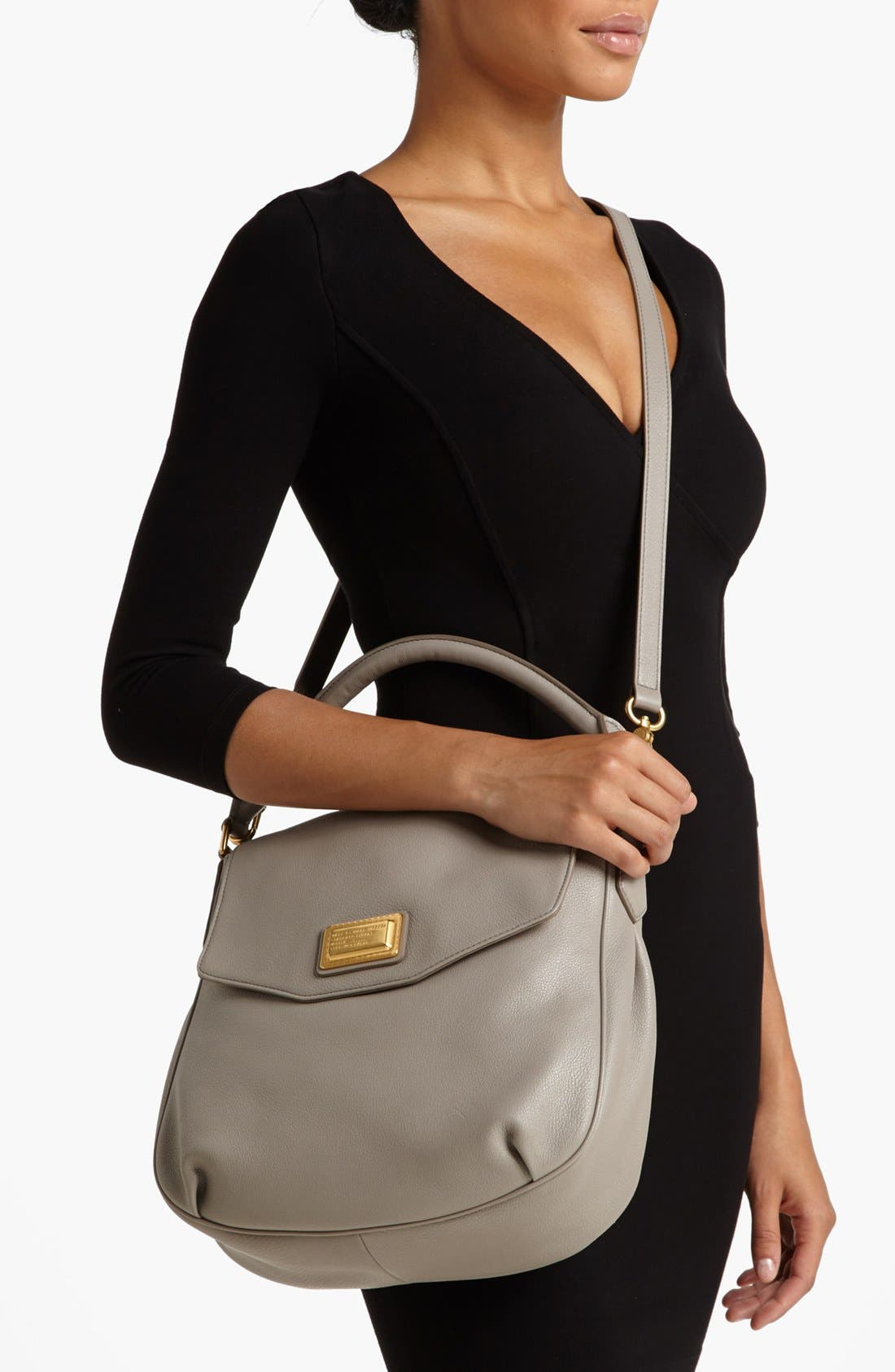 Alternate Image 2  - MARC BY MARC JACOBS Leather Flap Hobo
