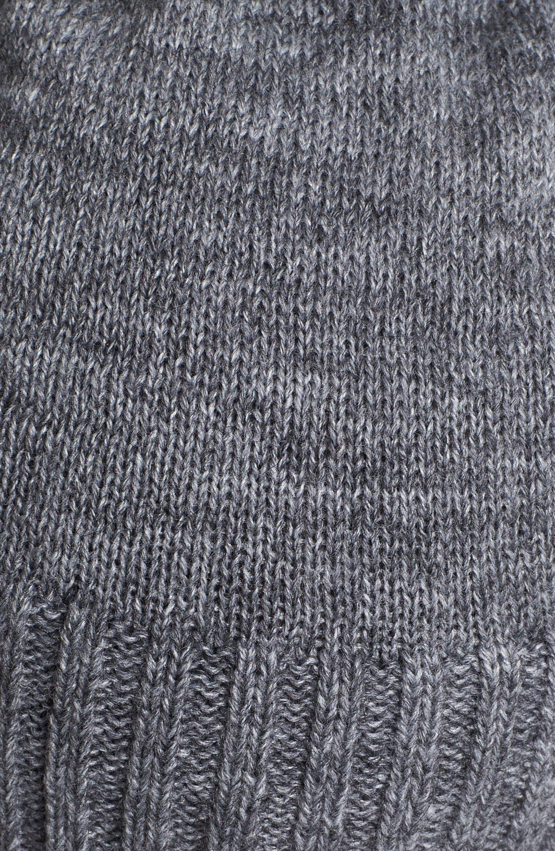 Alternate Image 2  - Tarnish Snap Detail Slouchy Knit Beanie