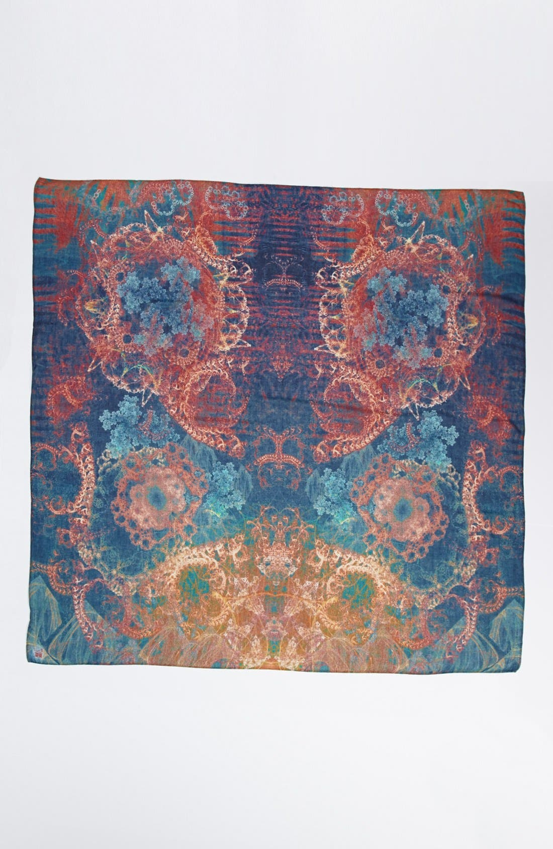 Alternate Image 2  - Front Row Society 'Coral Melody' Scarf