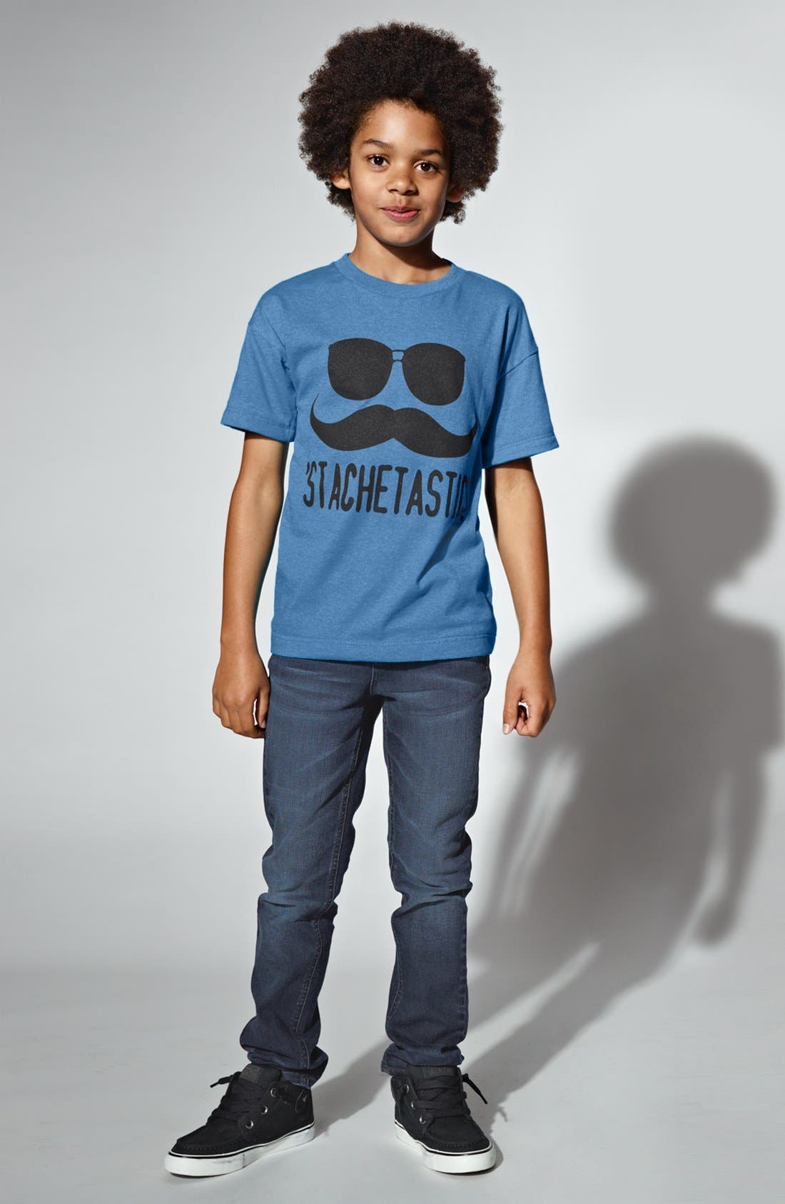Alternate Image 2  - Jem 'Stachetastic' Screenprint T-Shirt (Big Boys)