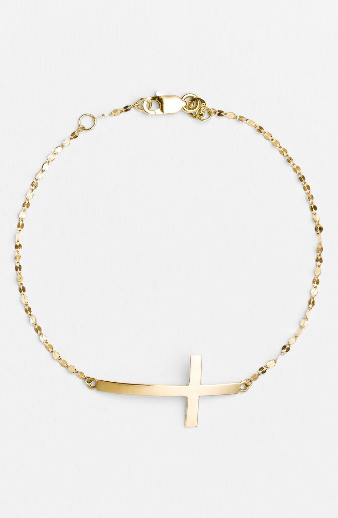 Alternate Image 1 Selected - Lana Jewelry Cross Station Bracelet