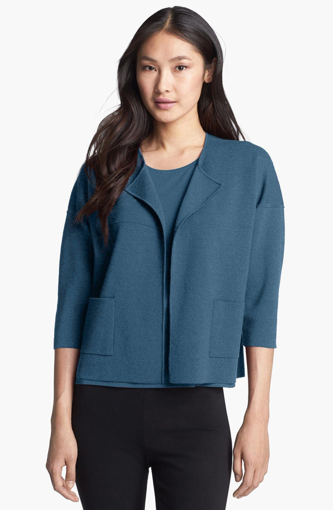 Alternate Image 1 Selected - Eileen Fisher Dolman Sleeve Jacket