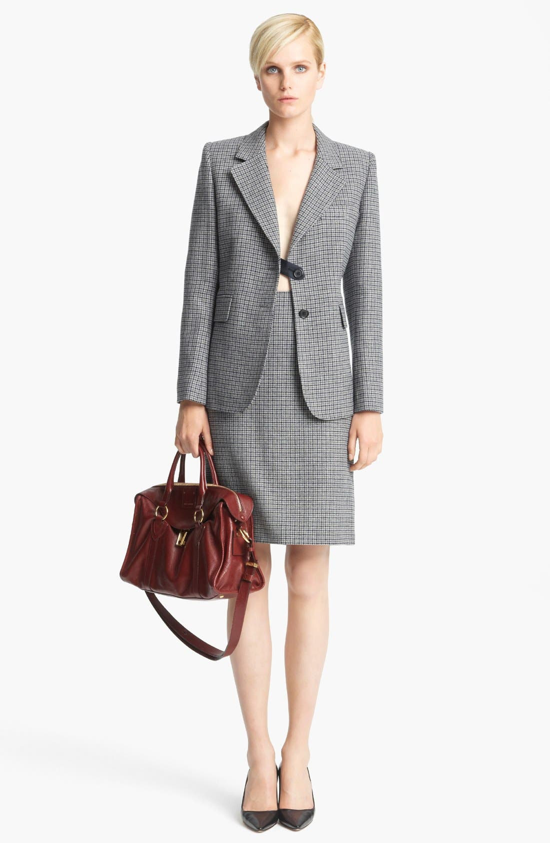 Alternate Image 5  - MARC JACOBS Wool Houndstooth Pencil Skirt