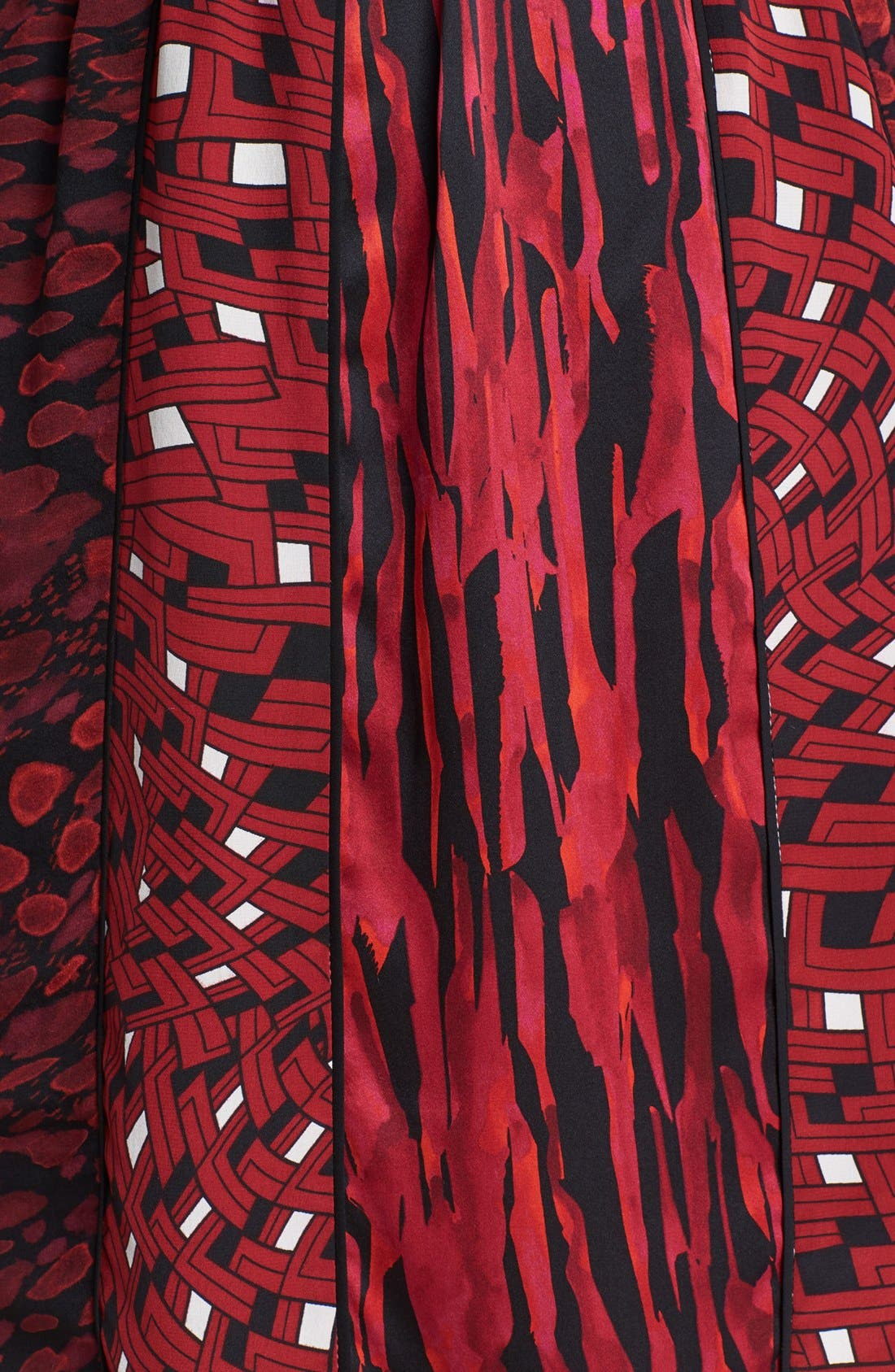 Alternate Image 3  - Diane von Furstenberg 'Kit' Print Silk Blouson Dress