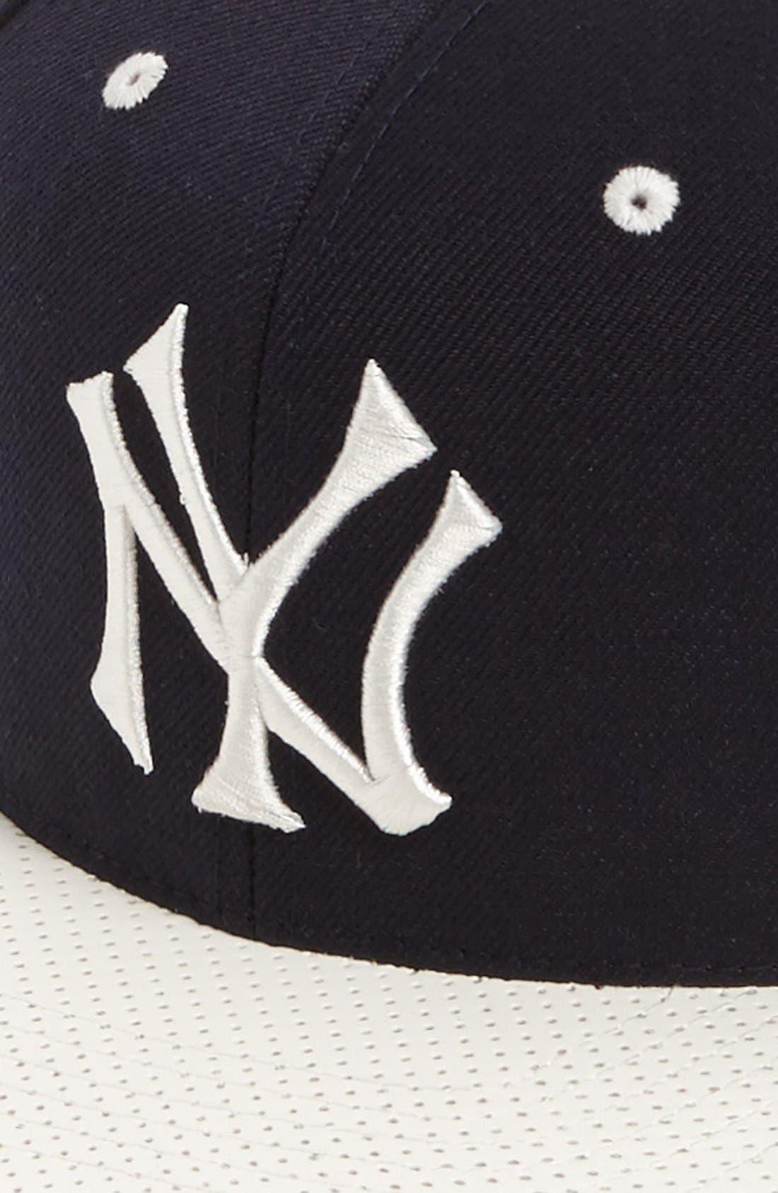 Alternate Image 2  - American Needle 'New York Yankees - The Natural' Snapback Baseball Cap