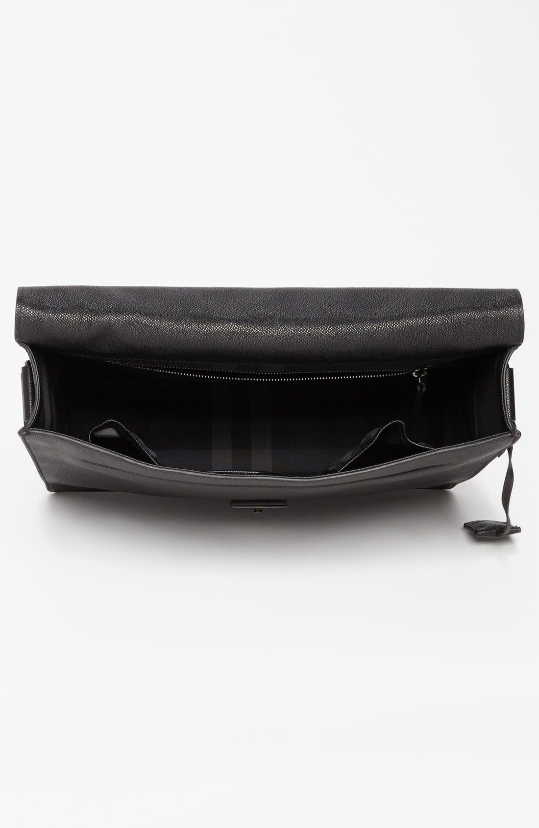 Alternate Image 3  - Burberry 'Rivendale' Leather Messenger Bag