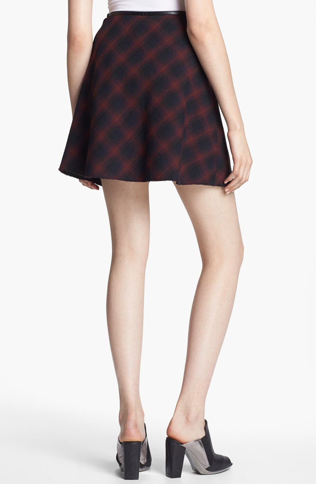 Alternate Image 2  - 3.1 Phillip Lim Flared Plaid Skirt