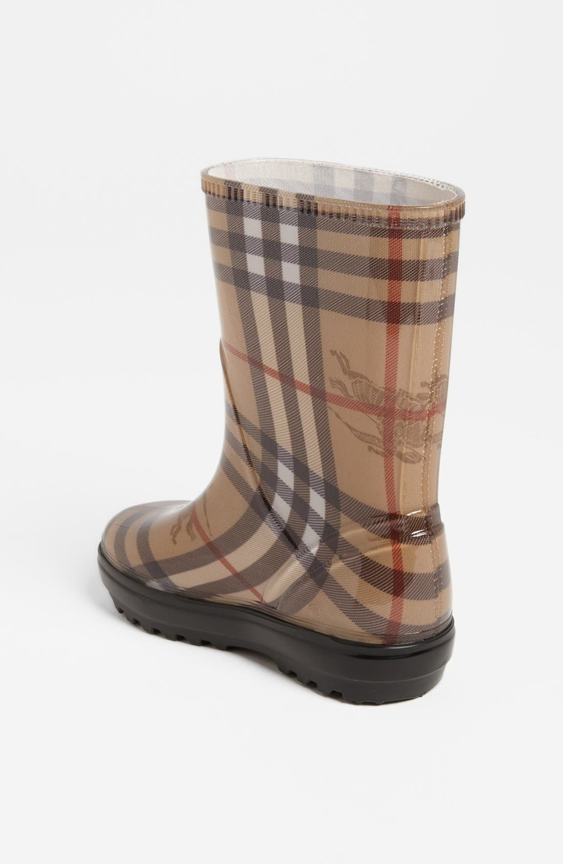Alternate Image 2  - Burberry 'Niles' Rain Boot (Walker, Toddler, Little Kid & Big Kid)
