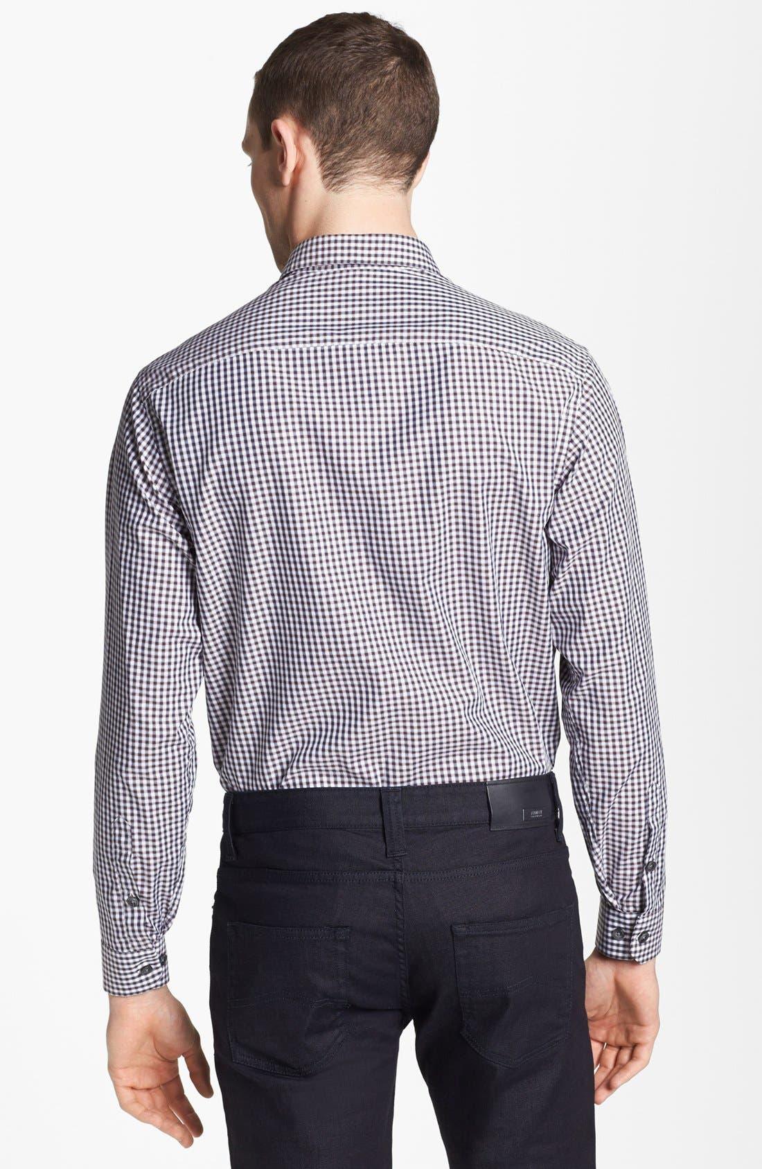 Alternate Image 2  - Armani Collezioni Check Sport Shirt