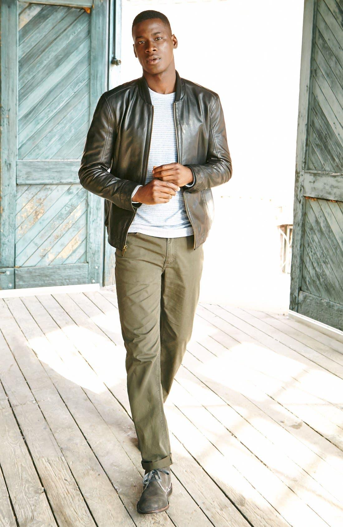 Alternate Image 2  - John Varvatos Star USA 'Authentic' Five Pocket Pants