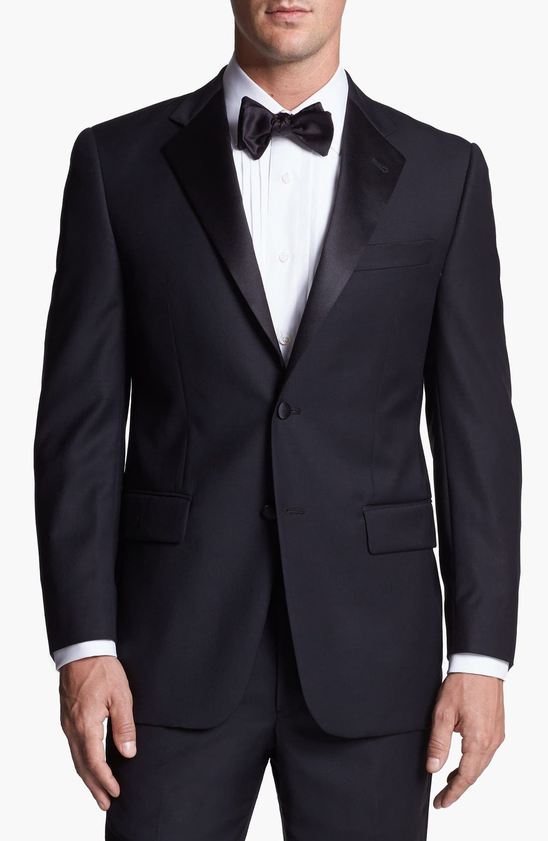 Alternate Image 4  - Joseph Abboud Classic Fit Tuxedo