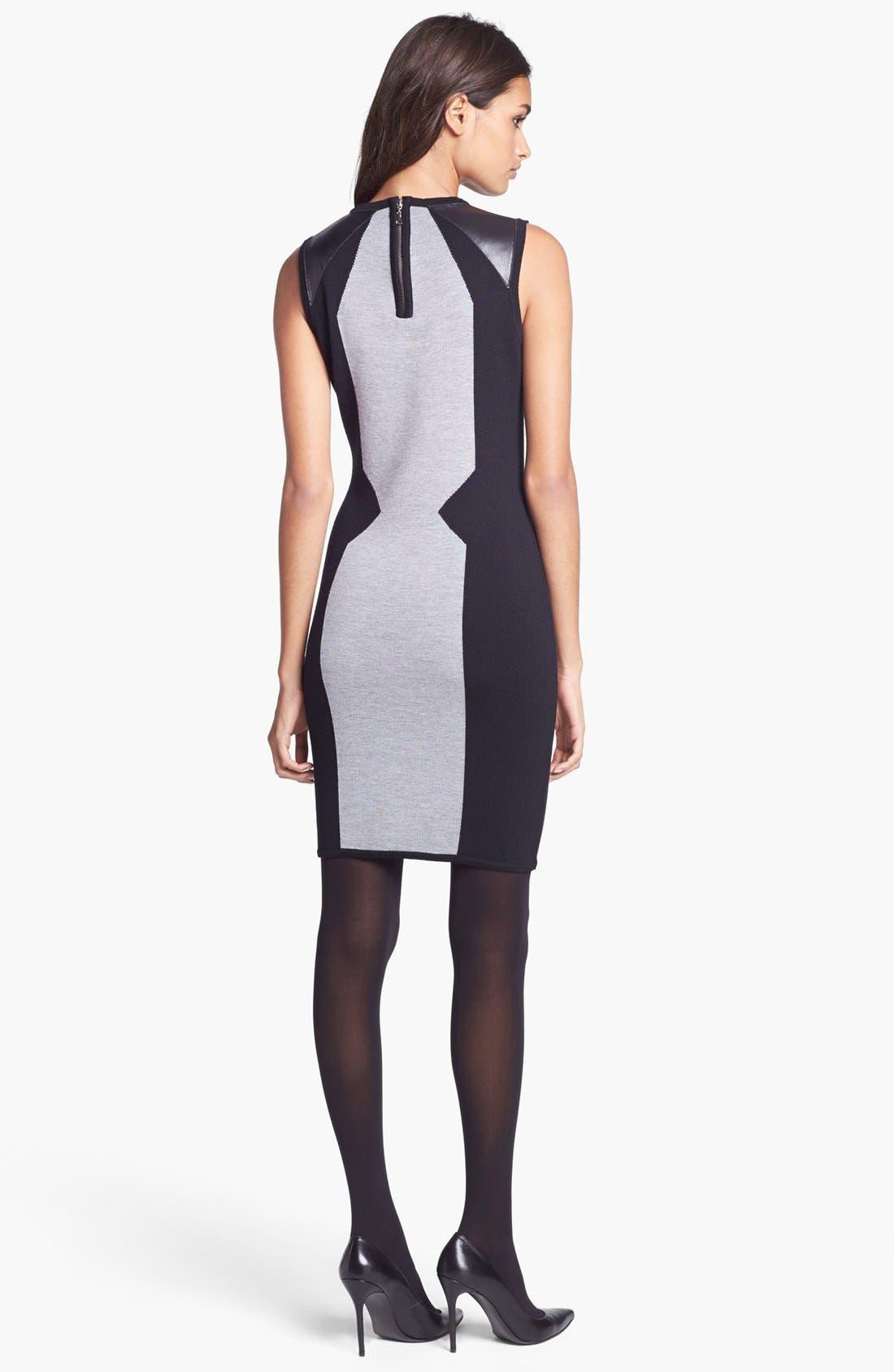 Alternate Image 2  - Milly Merino Wool Sweater Dress