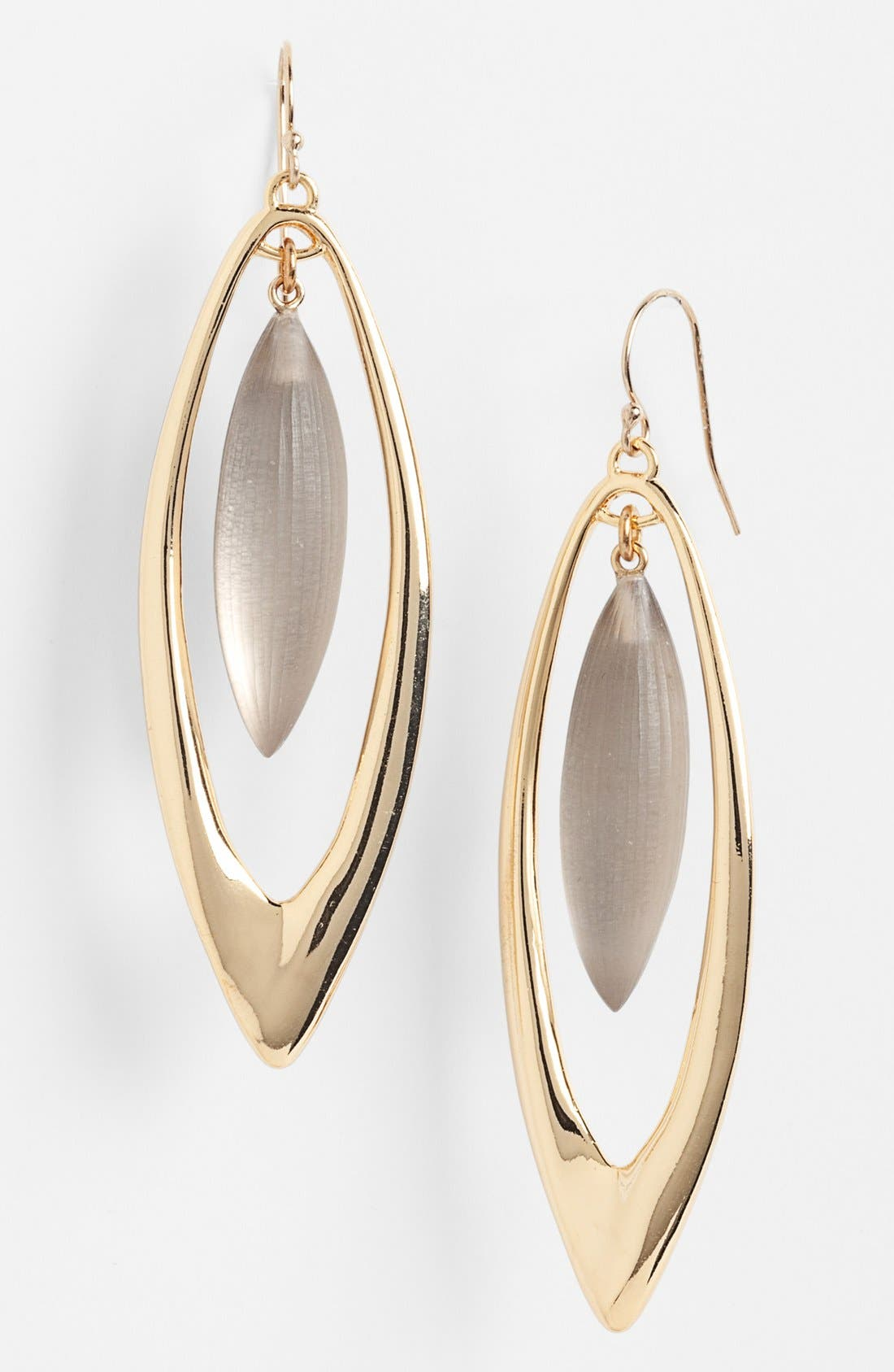 Alternate Image 1 Selected - Alexis Bittar 'Lucite® - Neo Bohemian' Large Marquise Orbital Earrings
