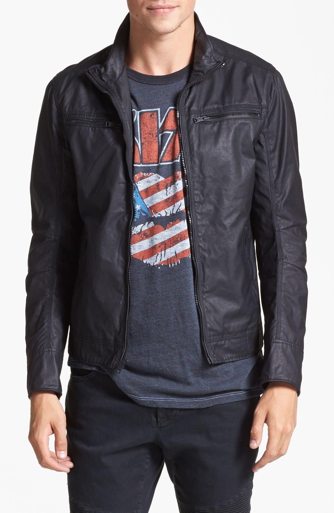 Alternate Image 1  - Rogue Coated Moto Jacket