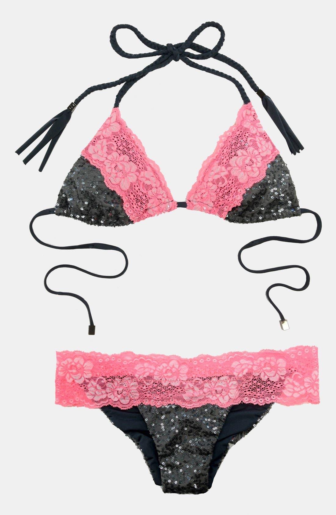 Alternate Image 6  - Beach Bunny 'Lady Lace' Bikini Bottoms