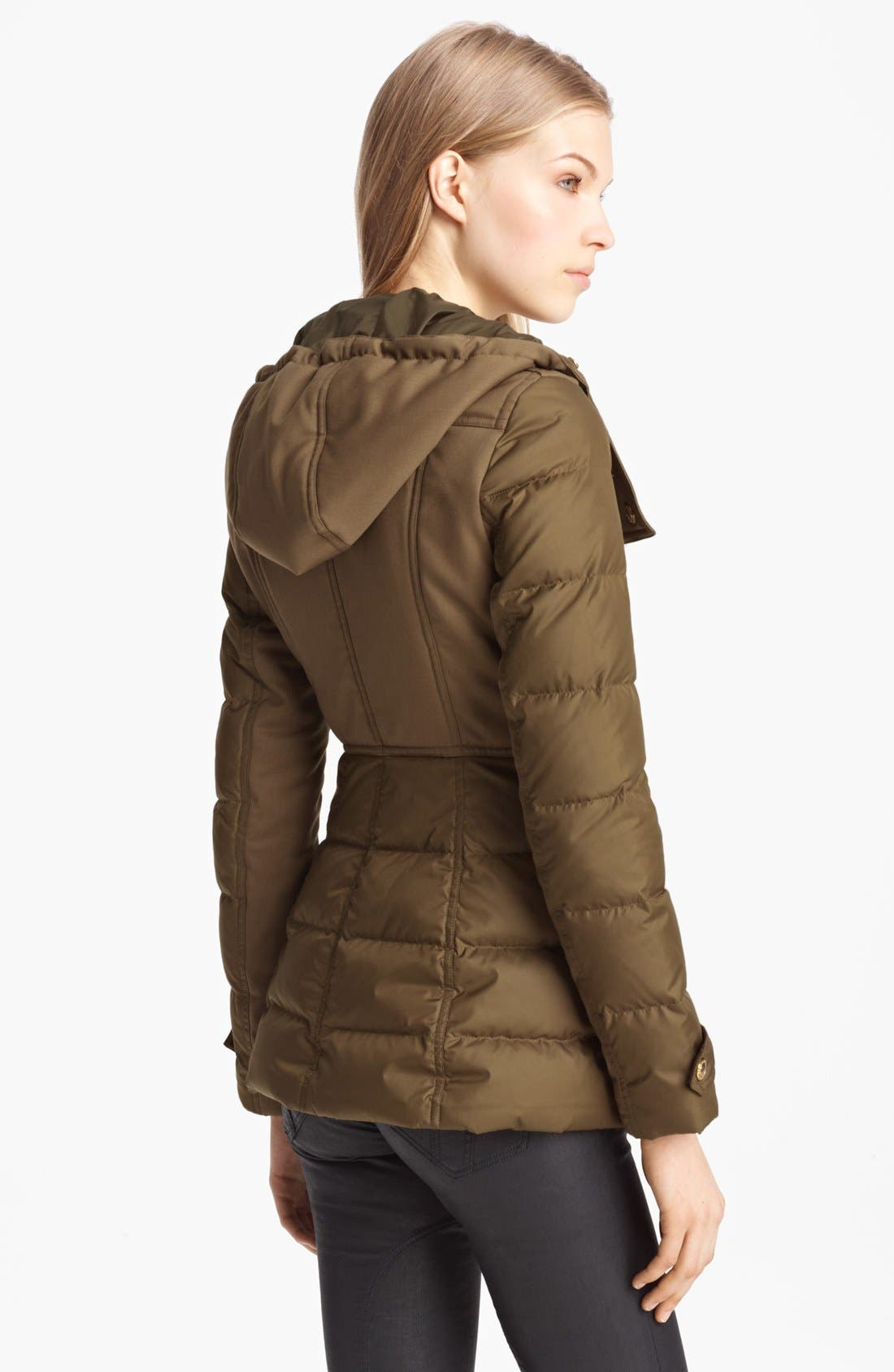 Alternate Image 2  - Burberry Brit 'Gosden' Goose Down Jacket