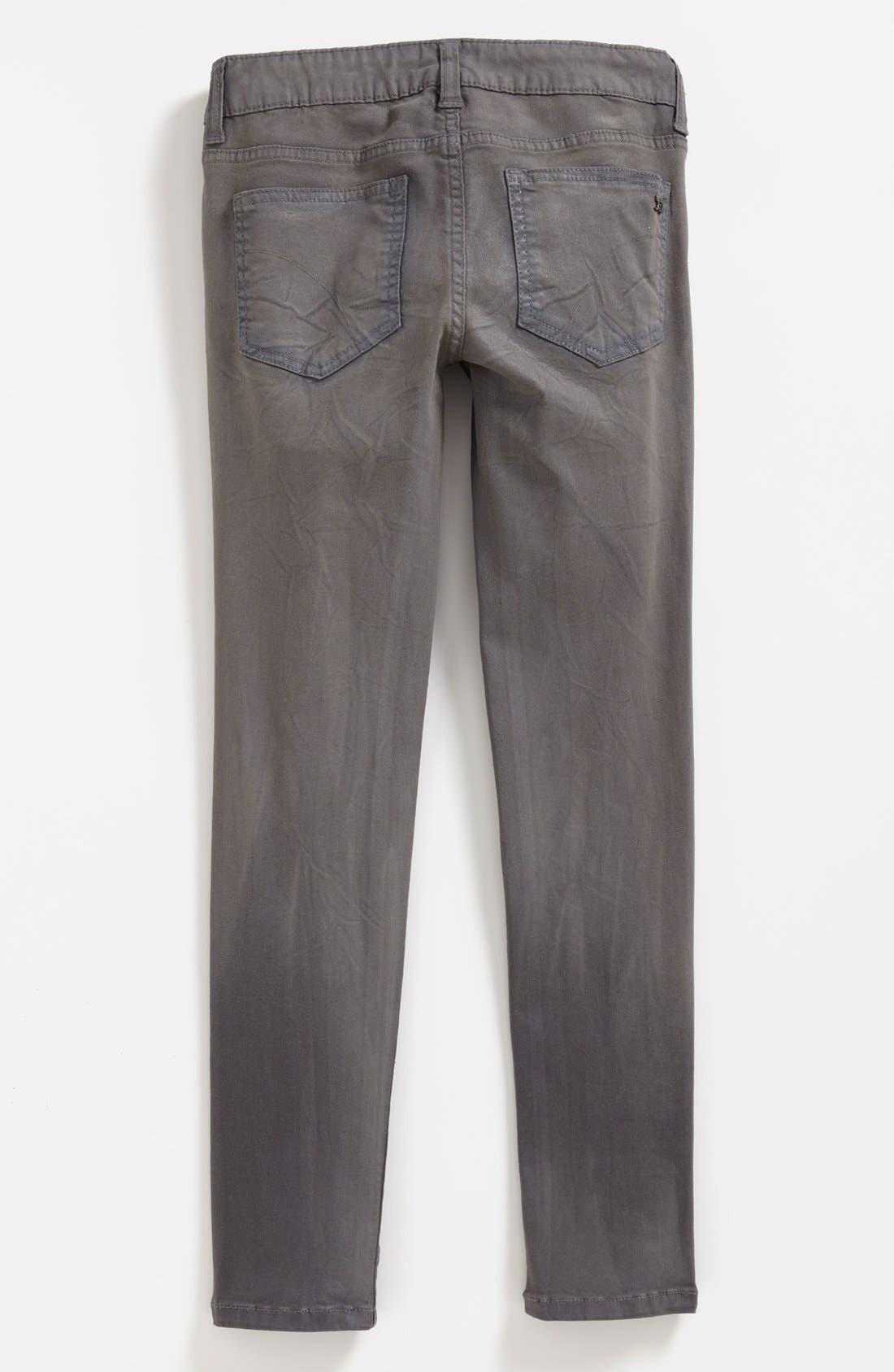 Alternate Image 1 Selected - Joe's Waxed Skinny Jeans (Big Girls)