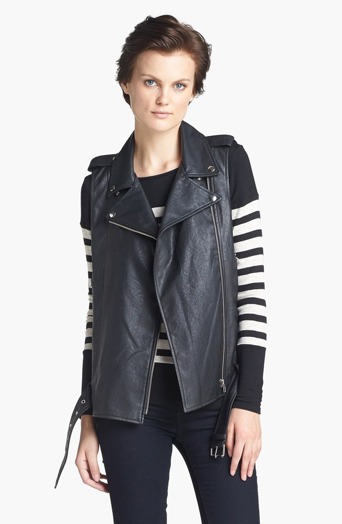 Main Image - Mcginn 'Hayden' Faux Leather Vest