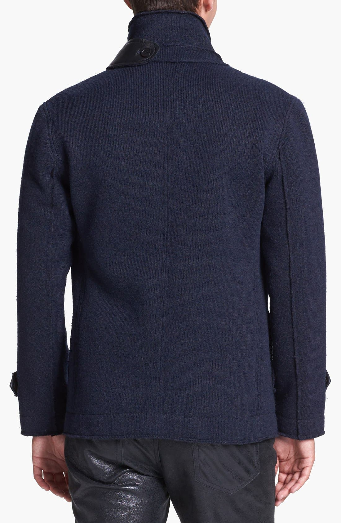 Alternate Image 2  - Kenneth Cole Collection Double Breasted Knit Jacket