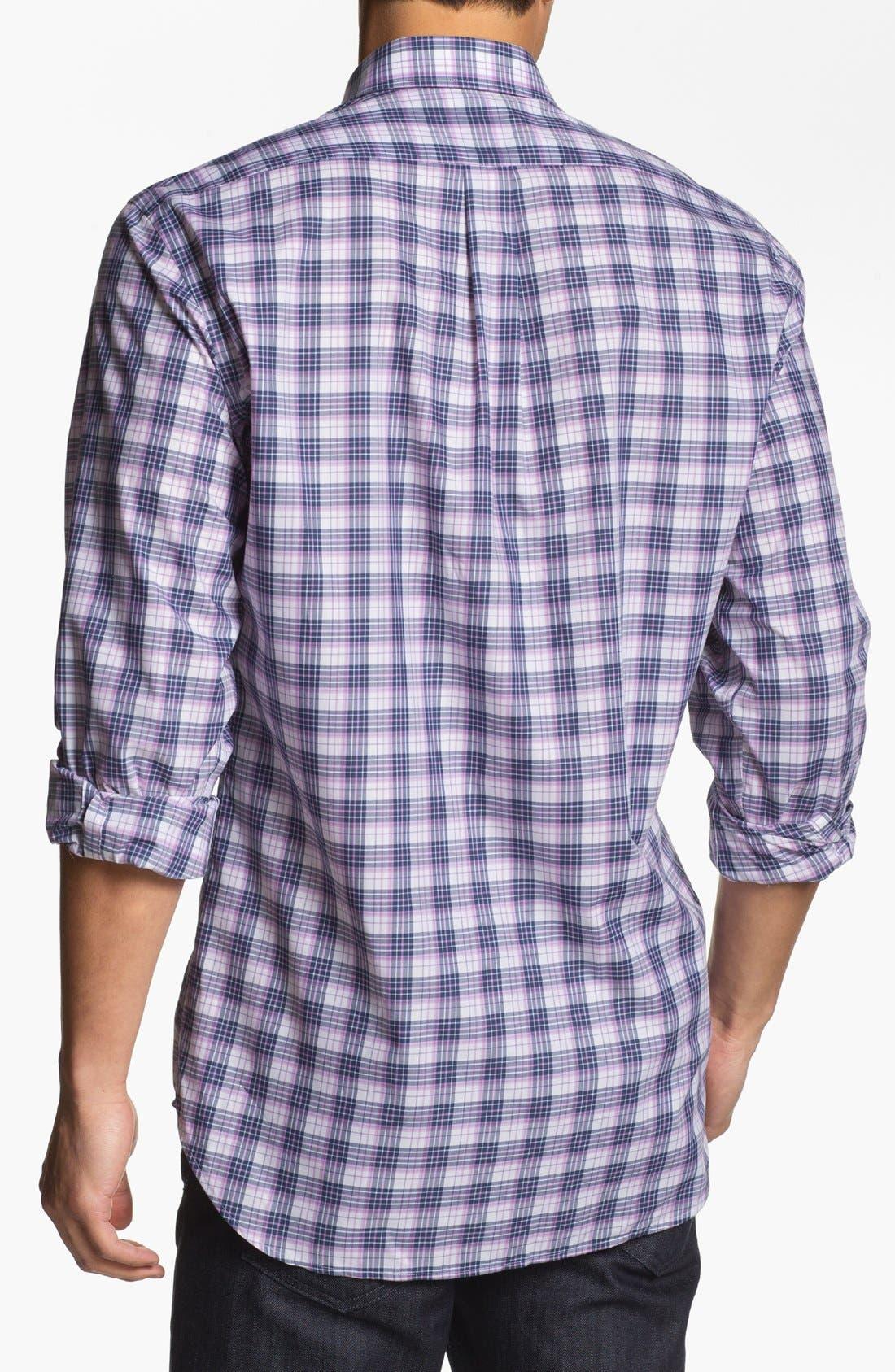 Alternate Image 3  - Peter Millar 'Portofino' Regular Fit Sport Shirt (Tall)