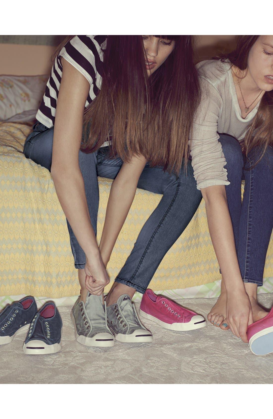 Alternate Image 5  - Converse 'Jack Purcell LP' Slip-On Sneaker (Women)