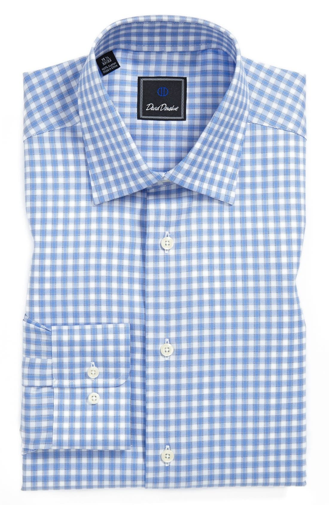 Alternate Image 1 Selected - David Donahue Regular Fit Dress Shirt