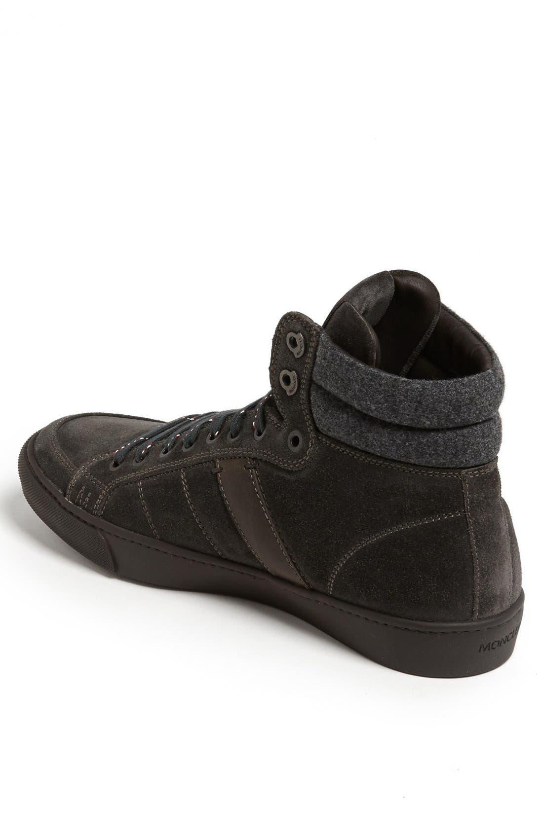 Alternate Image 2  - Moncler 'Lyon' Suede Sneaker