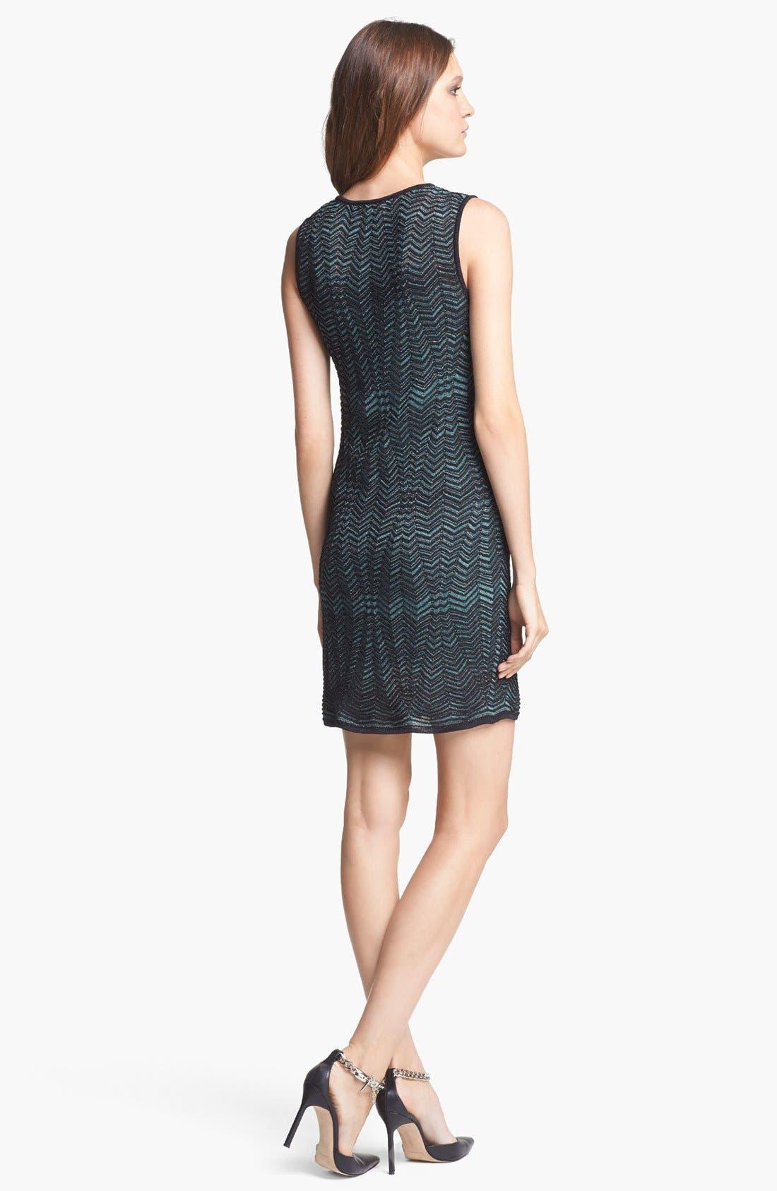 Alternate Image 2  - M Missoni Zigzag Shift Dress
