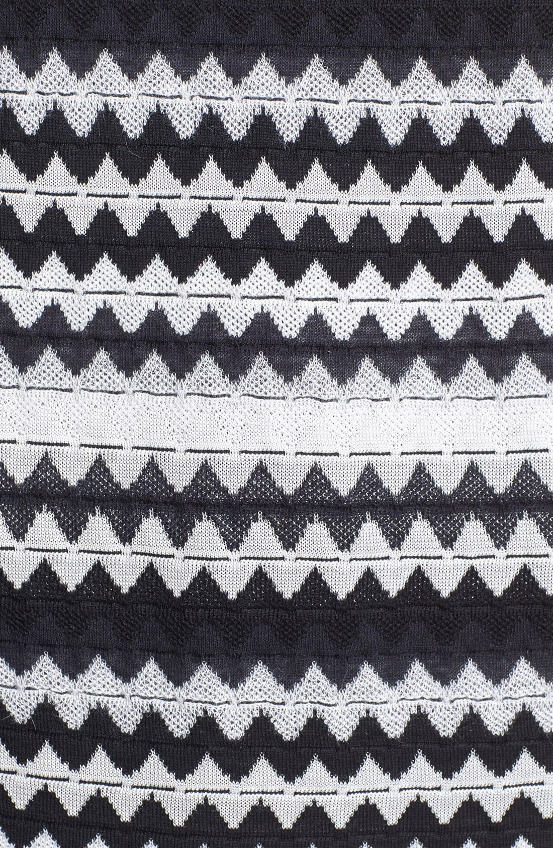 Alternate Image 3  - M Missoni Zigzag Shift Dress