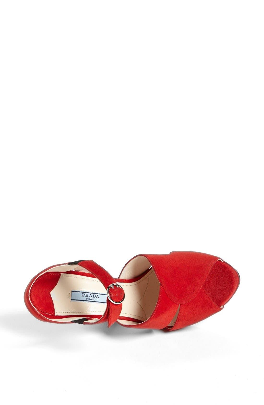Alternate Image 3  - Prada Quarter Strap Sandal