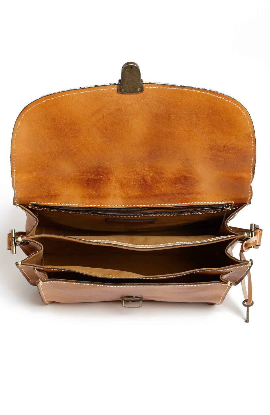 Alternate Image 3  - Patricia Nash 'Digione' Leather Satchel