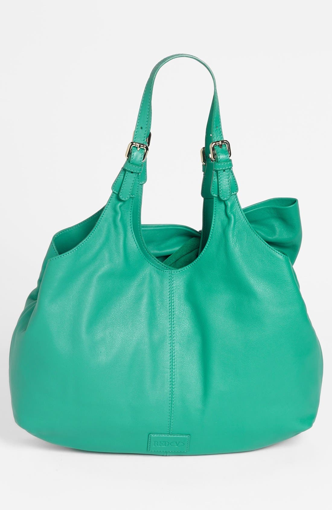 Alternate Image 4  - RED Valentino 'Bow' Leather Hobo