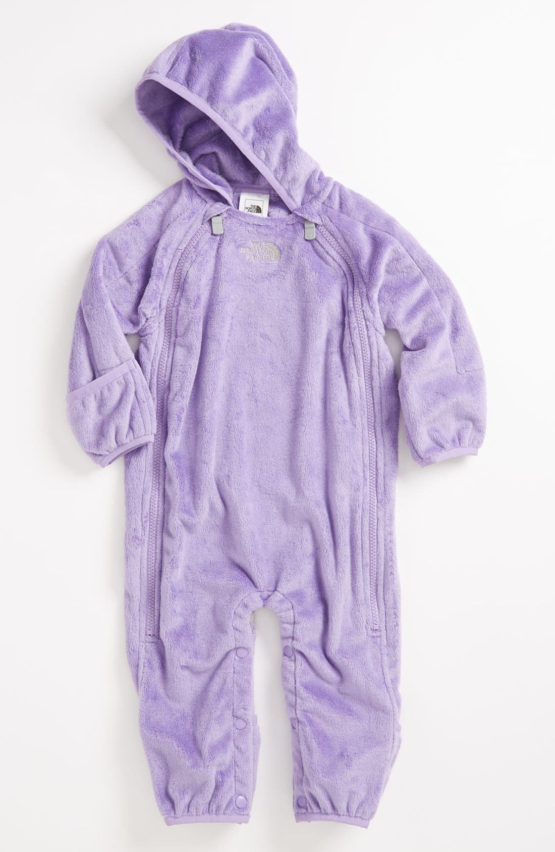 Alternate Image 1 Selected - The North Face 'Buttery' Fleece Bunting (Baby)