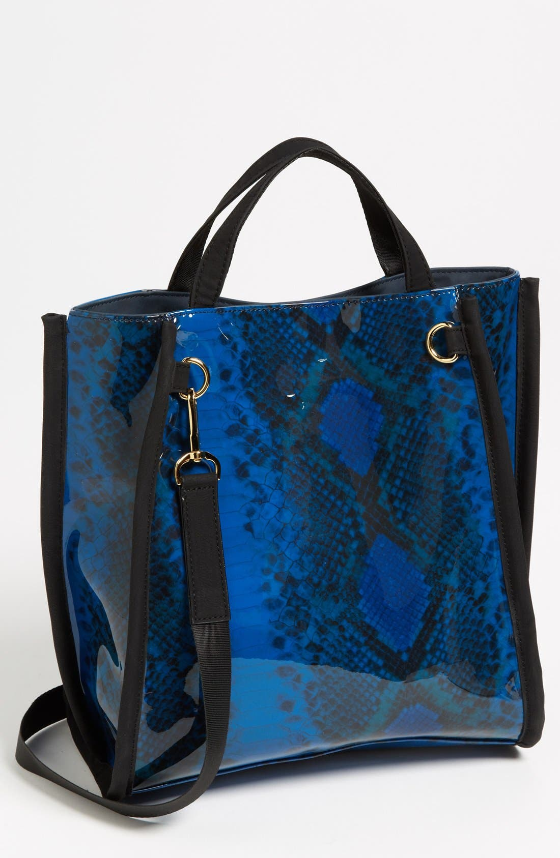 Main Image - French Connection Snake Print Tote