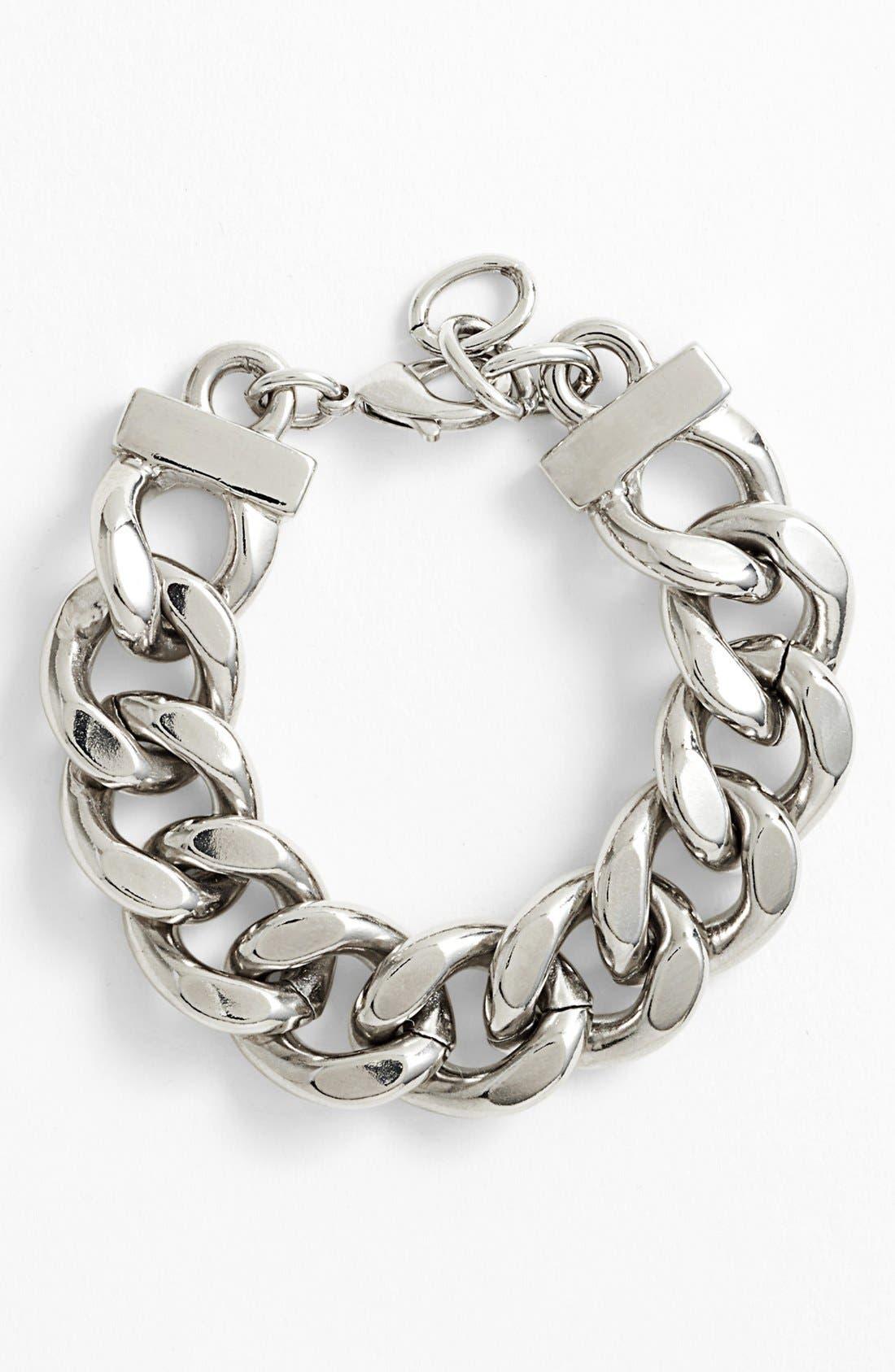 Alternate Image 1 Selected - Nordstrom Large Curb Link Bracelet