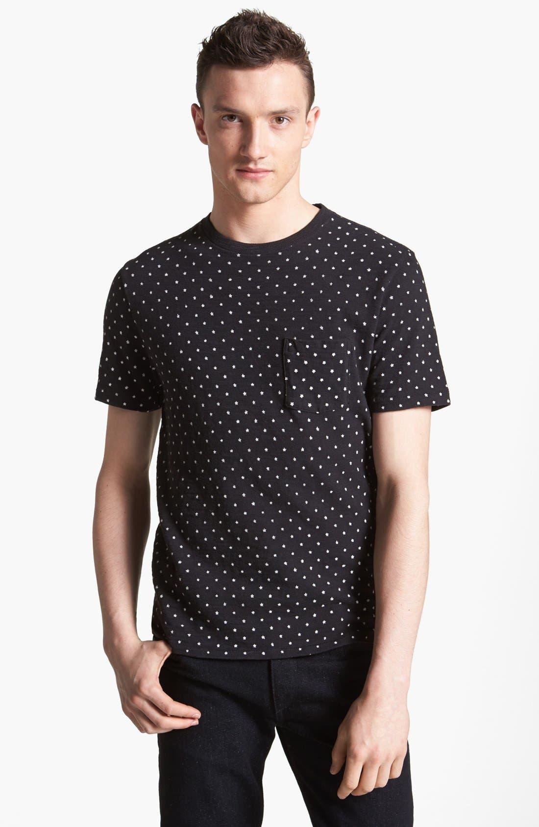 Main Image - rag & bone 'Blackstar' Print T-Shirt